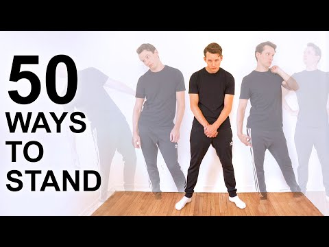Animator Demonstrates 50 Different Ways To Stand