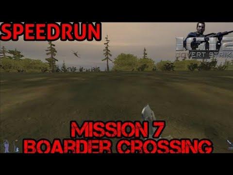 [SpeedRun - 03:22] I.G.I 2 - Covert Strike | Mission 7 (Boarder Crossing)