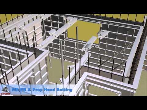 S-FORM Aluminum Formwork System