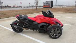 5. 000151   2016 Can Am Spyder RSS SE5 - Used motorcycles for sale