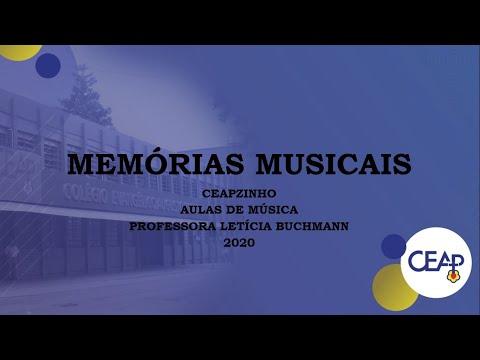 05.12.2020 - Memórias Musicais do CEAPZINHO