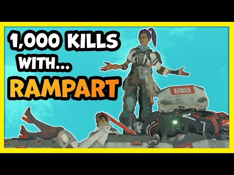 This is What 1,000 Kills On Rampart Looks Like In Apex Legends