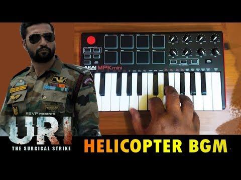 URI Mass Helicopter BGM    Cover By Raj Bharath   Shashwat Sachdev   Vicky Kaushal & Yami Gautam