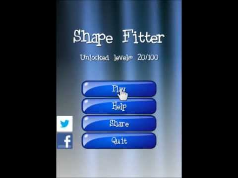 Video of Shape Fitter puzzle game
