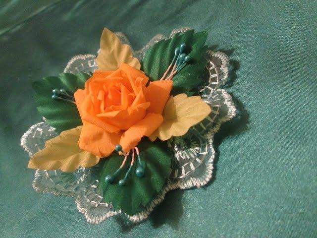 Цветы из ткани - Страница 35