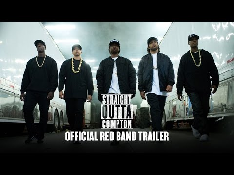 Straight Outta Compton – Red Band Trailer with Introduction from Dr. Dre and Ice Cube (HD)(Official)