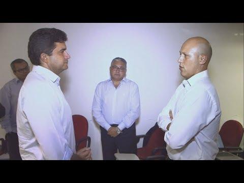 Rui Palmeira recebe diretrizes do CAF para o Revitaliza Maceió