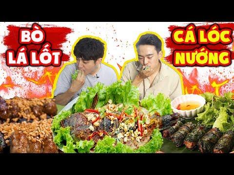 Người Hàn lần đầu ăn và nghiện luôn Bò lá lốt và Cá lóc nướng Việt Nam ??? - Thời lượng: 11 phút.