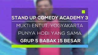 Video Stand Up Comedy Academy 3 : Mukti Entut, Yogyakarta - Punya Hobi Yang Sama MP3, 3GP, MP4, WEBM, AVI, FLV Februari 2018