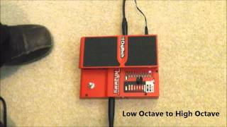 http://www.phillewisguitar.com A demonstration showing you the different settings and effects you can get with the Whammy Pedal made by Digitech. I am using ...
