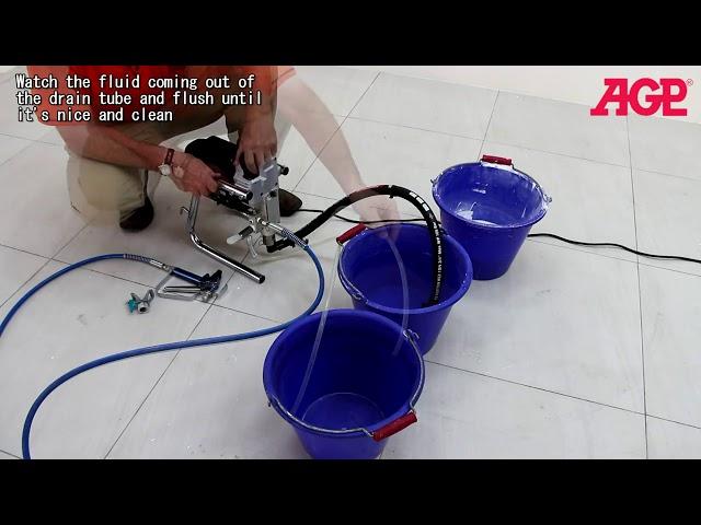 AGP EC021 Electric Piston Pump Airless Sprayer – Operation