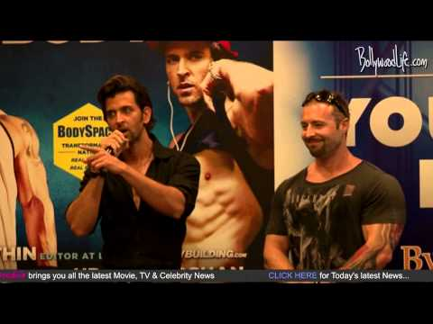 hrithik - Hrithik Roshan At the Launch of Kris Gethin By http://www.bollywoodlife.com Hrithik Roshan At the Launch of Kris Gethin Bodybuilding Book Launch. Roshan met ...
