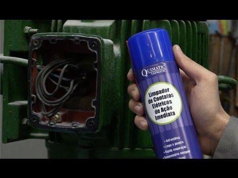 Vídeo: Limpa Contato Elétrico de Ação Imediata