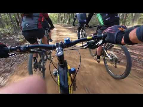 OAKS Woodford to Glenbrook MTB ride (видео)