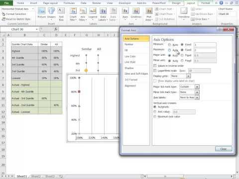 Excel Quintile Chart