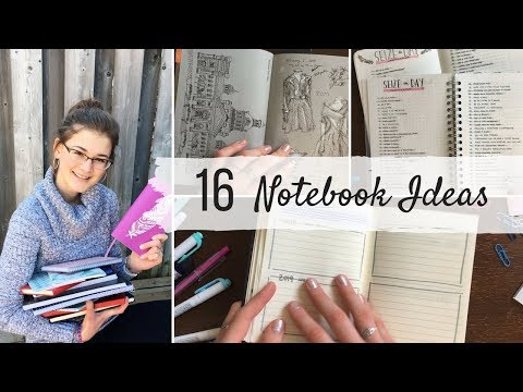 16 Ways to Use a Notebook