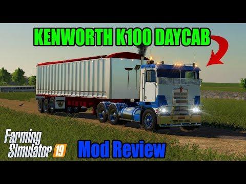 Kenworth K100 Daycab v1.0