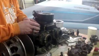 1. Arctic Cat ZR 800 engine top end rebuild