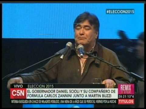C5N – ELECCION 2015: HABLA ZANNINI EN COMODORO RIVADAVIA