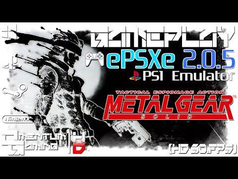 Metal Gear Solid - ePSXe 2.0.5 | PS1 Emulator Gameplay | HD.1080p 60ᶠᵖˢ