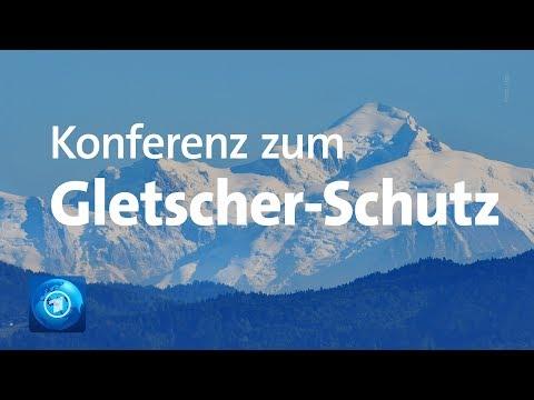 Konferenz zum Gletscher-Schutz: Die Alpen Tauen auf