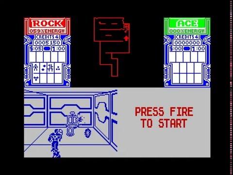 Xybots Walkthrough, ZX Spectrum