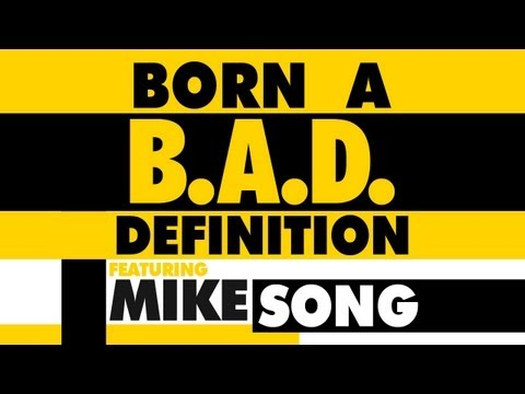 Mike - The first video of the B.A.D. BORN A DEFINITION series. In this episode, Mike speaks on his creative process on the subjects of -FEELING/THINKING LIKE A KID ...