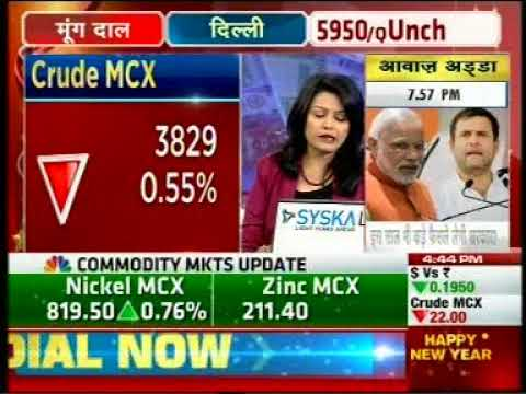 Buy Crude Oil with a target of INR 3860- Mr. Prathamesh Mallya, CNBC Awaaz, 1st January