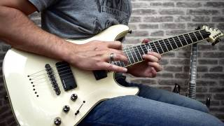 Signal chain: Schecter Blackjack ATX C7, Maxon OD808, Engl e530.Drums: Toontrack Superior Drummer with Made of Metal EzxSong played: The Termination Proclamation