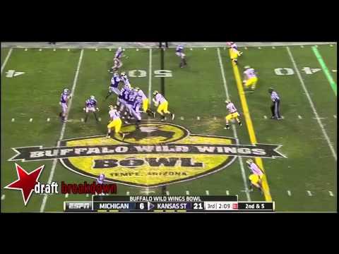 Jake Waters vs Michigan 2013 video.
