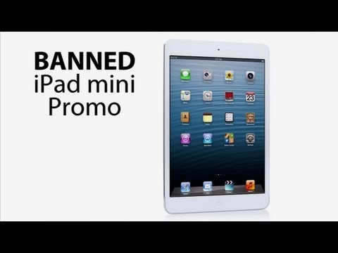 Banned iPad mini Promo