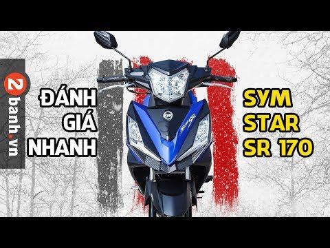 SYM StarSR 170 ABS vừa được ra mắt - Đánh giá nhanh | 2banh.vn - Thời lượng: 38 phút.