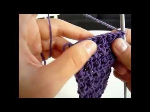 Banda para el Pelo o Diadema a Crochet - Paso a Paso