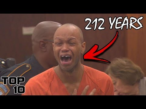 Top 10 Convicts Who Freaked Out After Given A Life Sentence