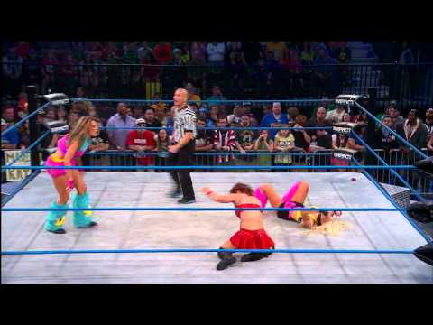 madison - The Beautiful People vs. Madison Rayne and Brittany (April 3, 2014)