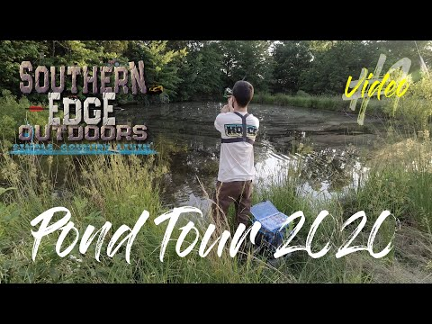 Pond Tour 2020 Video #1 Watch The First  Video In The Pond Tour 2020 Series! 1/4 Acre Bass Hole!!!!