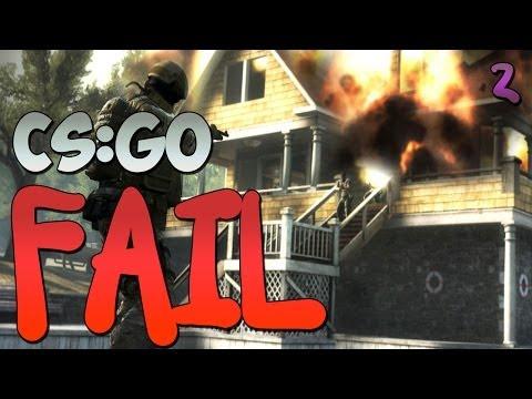 CS:GO FAIL #2 - Ку-ку, епта!