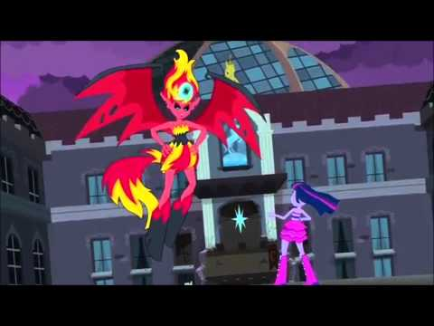 Sunset Shimmer's Wrath/Defeat