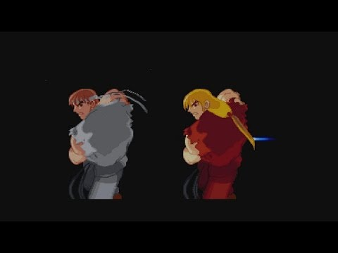Street Fighter Alpha 2 Wii U