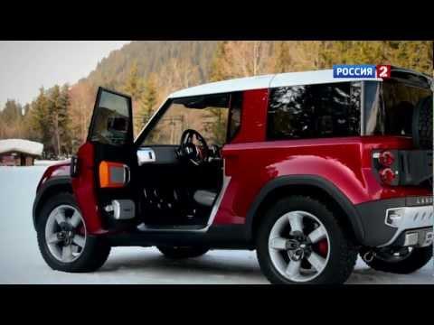 Land Rover Range Rover Sport Тест-драйв Land Rover DC100 (превью) // АвтоВести 50