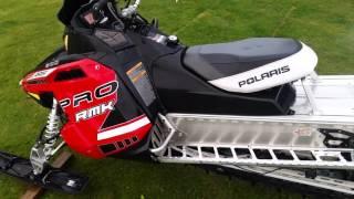 9. 2014 Polaris Pro RMK 800