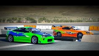 Nonton Forza 6: Fast and Furious - Toyota SUPRA vs. Mitsubishi ECLIPSE GS | Drag Race Film Subtitle Indonesia Streaming Movie Download