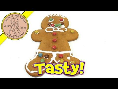 Jumbo Gingerbread Man Kit - 2013 Christmas Candy & Snack Series