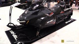 8. 2016 Ski Doo Skandic SWT Super Eide Track Sled - Walkaround - 2015 Toronto Snowmobile & ATV Show
