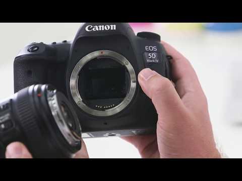 Canon EOS 5D MK IV Digital SLR Camera with EF 24-70mm f/2.8L II Lens video