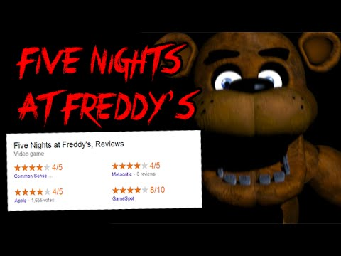 Five Nights At Freddy's: Scary?