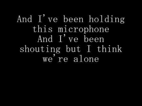 Something Corporate~~The Astronaut Lyrics