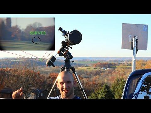 Mikrotik long distance Wi-Fi Linking 2.4 miles part 2