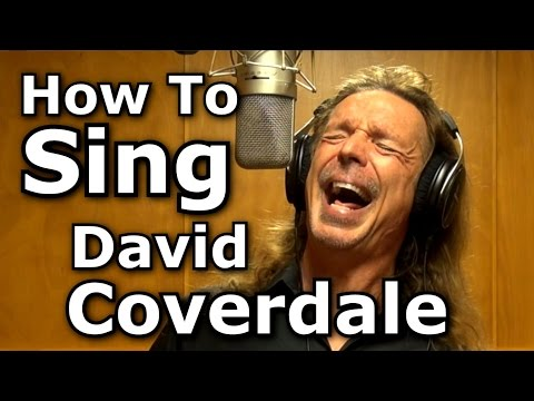 How To Sing David Coverdale - Whitesnake - Here I Go Again - Ken Tamplin Vocal Academy