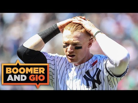 Video: The Yankees have BURIED Clint Frazier | Boomer & Gio